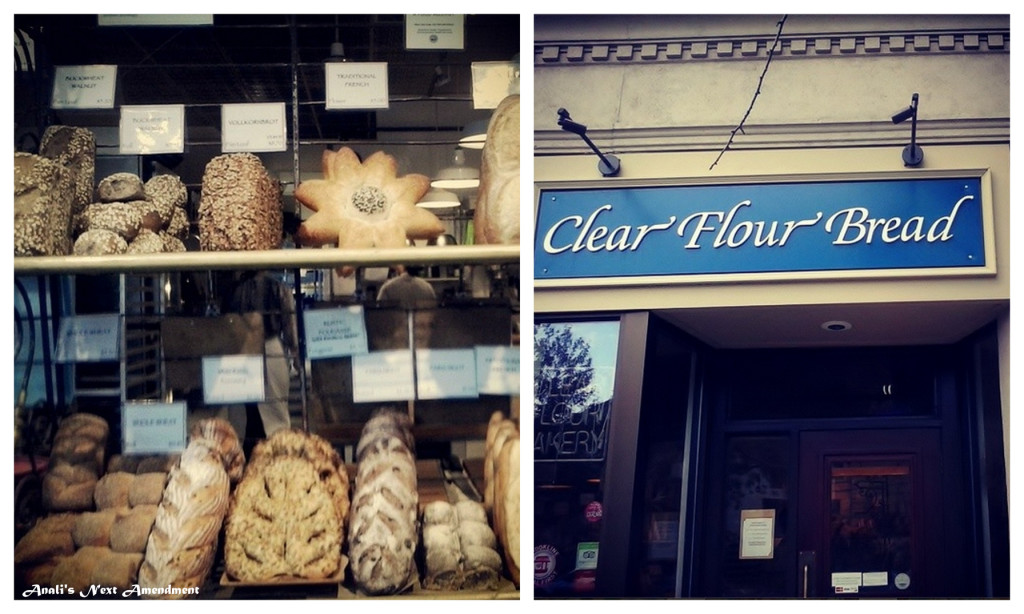 Clear Flour Bread storefront