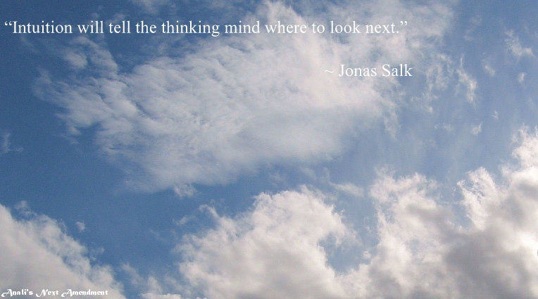 Blue Sky with quote