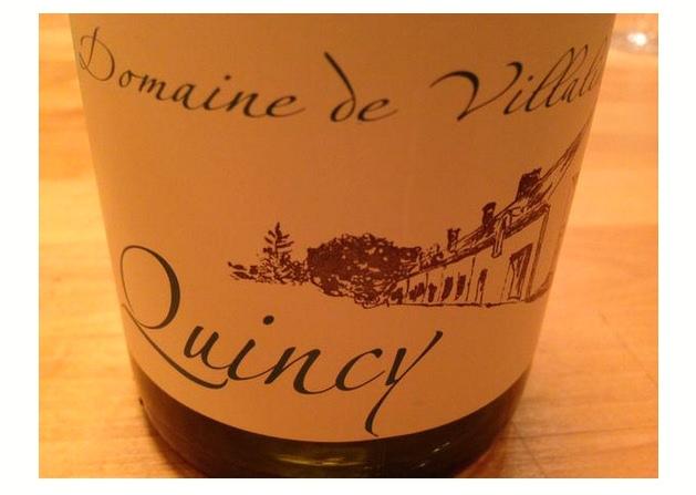 Quincy France wine bottle