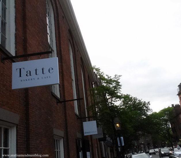Tatte bakery sign