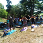 Afro Flow Yoga: Schoolmaster Hill in Franklin Park