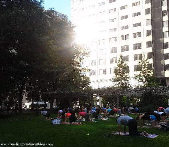 free yoga classes Boston
