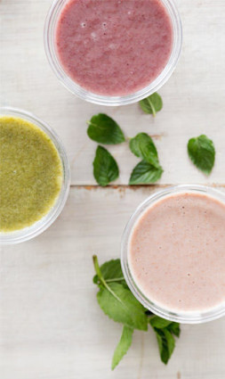 Nourish your soul smoothies