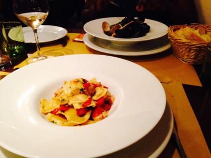 best meal ever Locanda Spinola