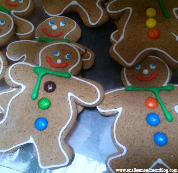 seasonal sweets gingerbread men