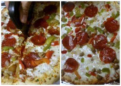 DiGiorno vs Red Baron pizza taste test