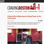 Recently on Craving Boston: Power Café