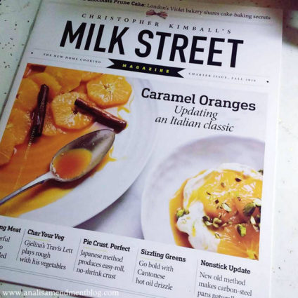 Color photo of cover of Christopher Kimball's Milk Street Magazine.