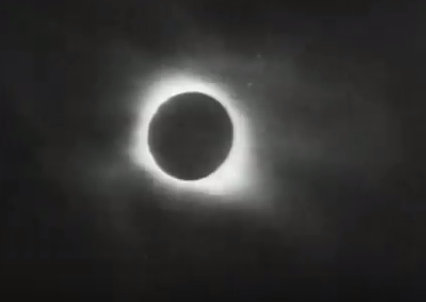 Total eclipse of the sun August, 31, 1932.