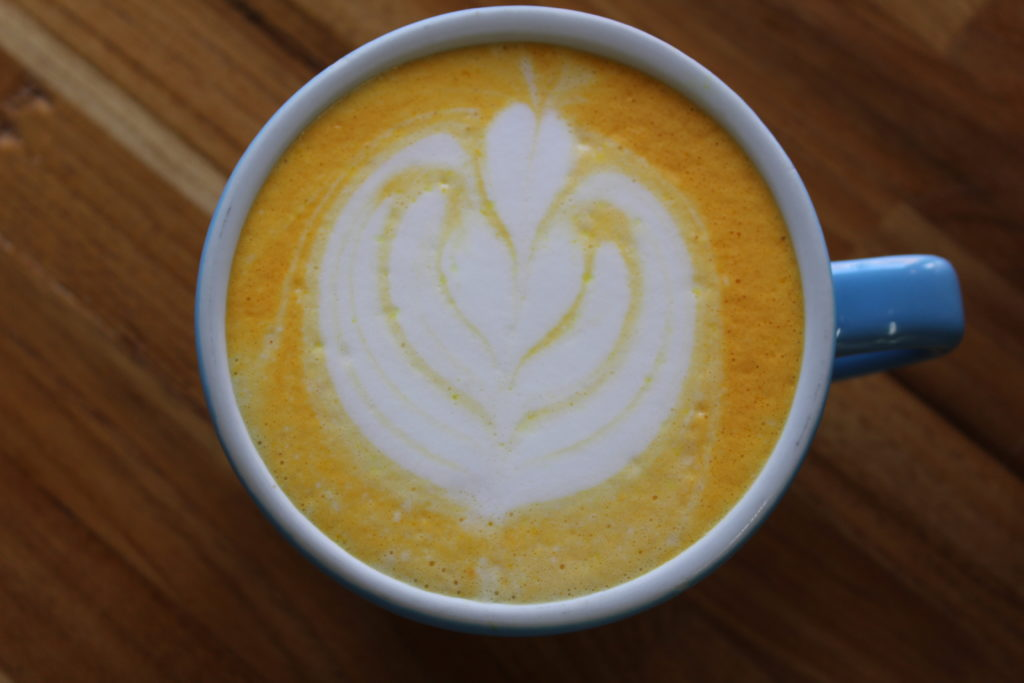 Golden CBD Latte