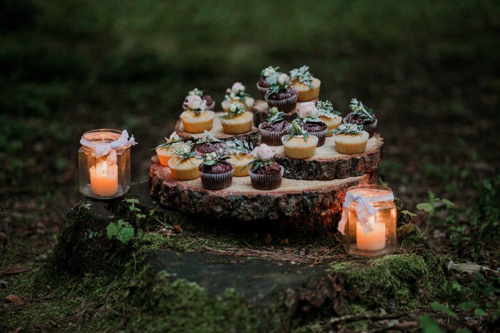 Blog Anniversary cupcakes