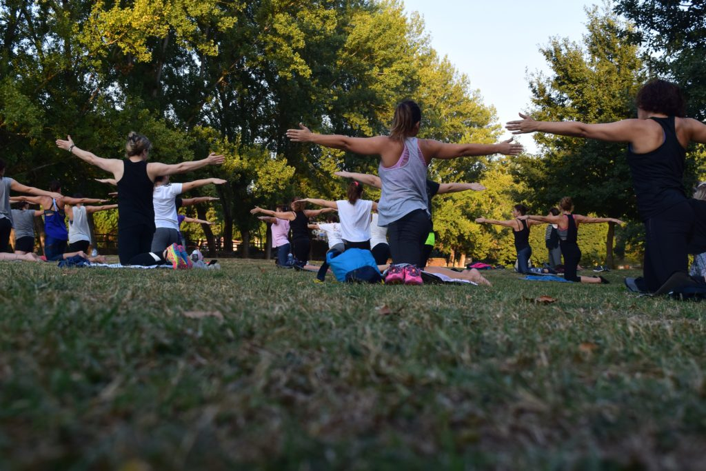 Outdoor free yoga classes are all over Boston this summer.