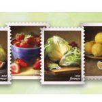 Fruits & Vegetables: USPS Forever Stamps