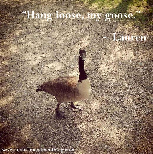 goose quote