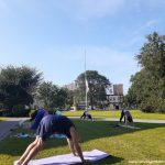 Free Yoga On The Library Lawn