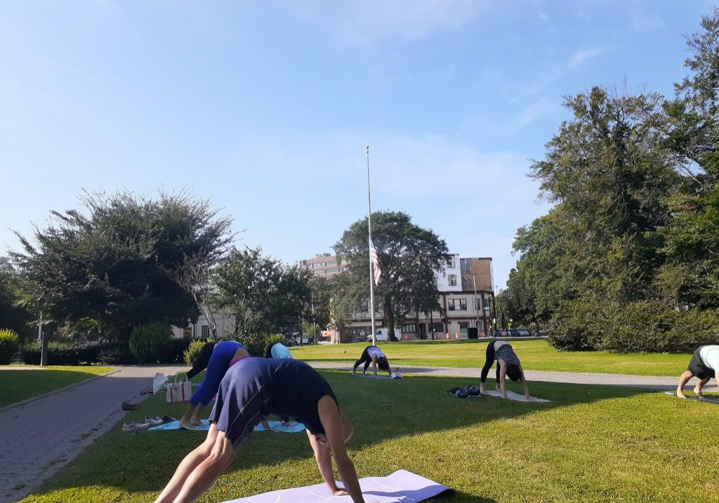 Yoga at Quincy Library